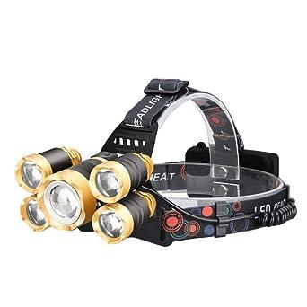KX-QIN Faros LED Faros delanteros Antorcha Luz de flash USB ...