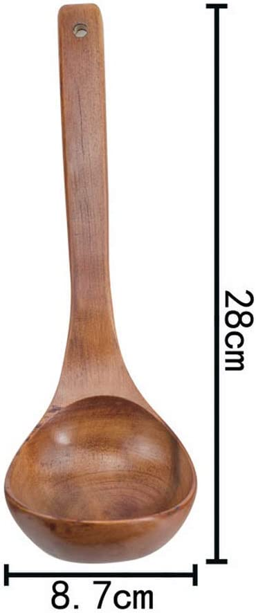 Home Kitchen Daily Kitchen Utensils Cooking Soup Spoon Convenient and Practical