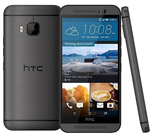 HTC One M9 32GB Verizon Wireless 4G LTE Octa-Core 20MP Camera Phone (Renewed) (Gunmetal Grey) ()