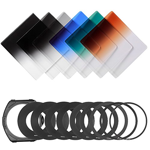 58mm color filter kit - 9