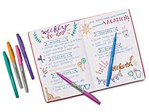 Paper Mate Flair Felt Tip Pens, Medium Point, Limited Edition Candy Pop Pack, 6 Count (1982365)