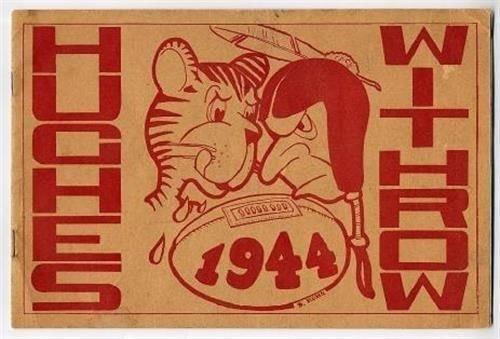 1944 Hughes - Withrow High School Football Program Cincinnati Ohio from Generic