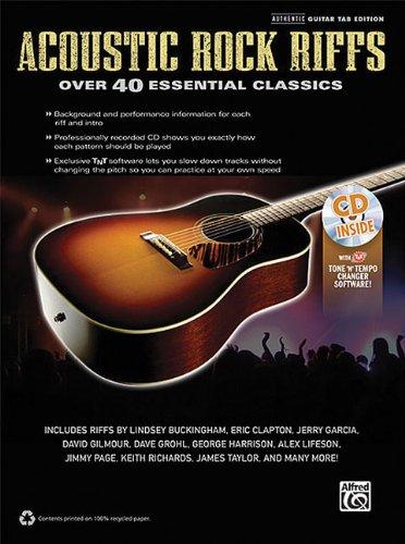 (Acoustic Rock Riffs: Over 40 Essential Classics)