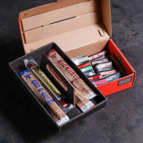 Man Crates Jerky Tool Box - Unique Gift For Men - Includes 14 Delicious Beef Jerky Flavors - In A Delightfully Surprising Tool-Shaped Box by Man Crates (Image #6)