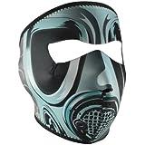 ZANheadgear Neoprene Gas Face Mask (Black/Green)