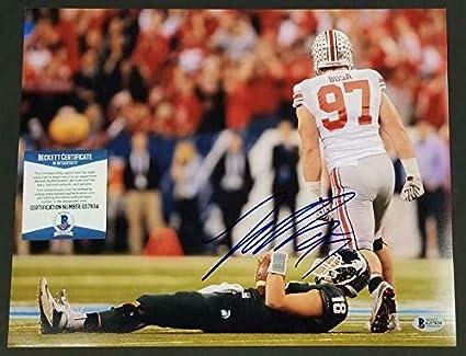 innovative design 2ca8e 8c401 Joey Bosa Autographed Signed 11x14 Photo Ohio State Buckeyes ...