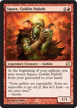 Magic: the Gathering - Squee, Goblin Nabob - Modern Masters