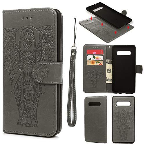Galaxy S10 Plus Case, Wallet Case PU ()