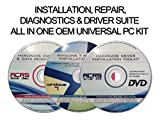Universal 3 Disc Set For Install, Recovery, & Repair All Windows 7 Versions-Hardware Diagnostics & Drivers