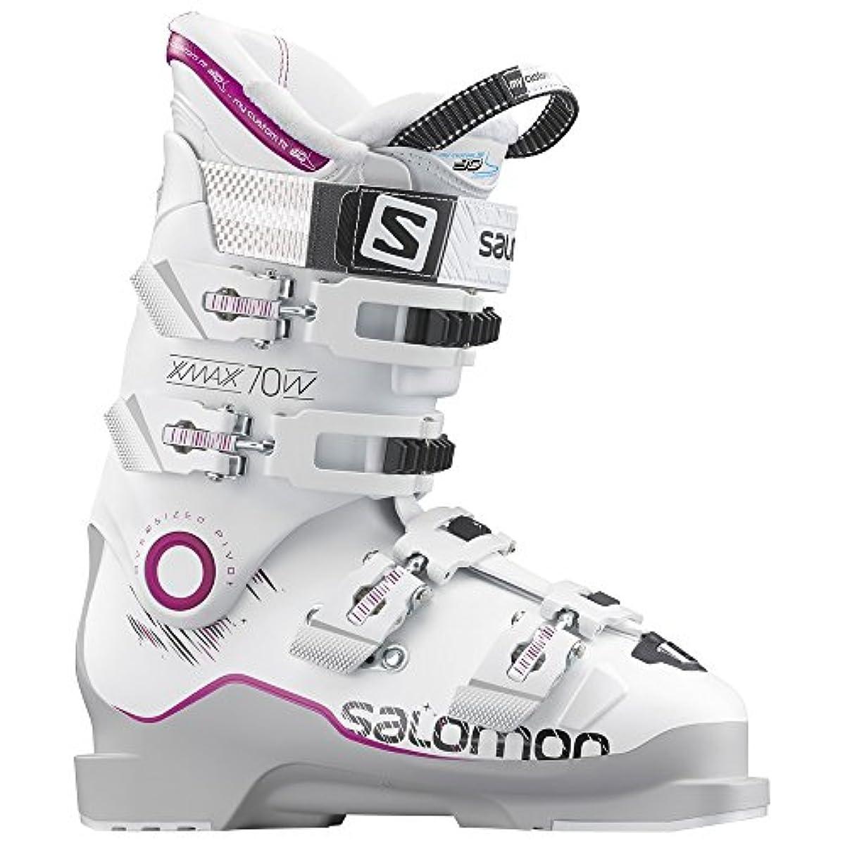 [해외] SALOMON살로몬 스키 부츠 X MAX 70 레이디스 L37813200 그레이/화이트/핑크