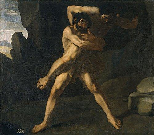 'Zurbaran Francisco De Hercules Luchando - Tuscany Maple Desk Shopping Results