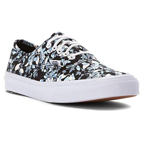 Vans Authentic Slim Womens shoes Reverse Floral/ Black True White (6.0) M