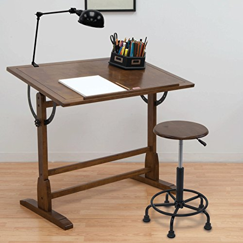 Studio Design 42'' Vintage Drafting Table + Studio Designs Ponderosa Office Chair by STUDIO DESIGNS INSPIRING CREATIVITY WWW.STUDIODESIGNS.COM (Image #5)