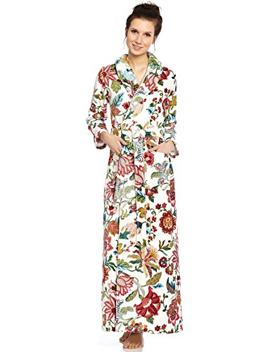 b2322fdf26 Long Women s Turskish Terry Cotton Bath Robe - Toweling with Belt ...