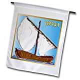 Cheap Lee Hiller Designs Judaica – 12 Tribes of Israel Art Print Zebulun – 18 x 27 inch Garden Flag (fl_107267_2)
