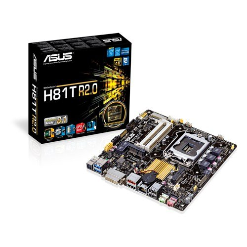 Asus Mini ITX DDR3 1066 LGA 1150 Motherboards H81T R2.0/CSM (1150 Motherboards)