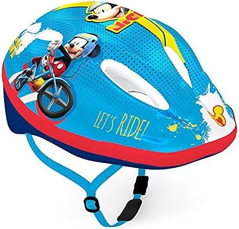Disney Bike Helmet - Casco de Bicicleta para niños, diseño de Mickey Sports Multicolor, M: Amazon.es: Deportes y aire libre