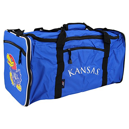 NCAA Team Logo Extended Duffle Bag (Kansas Jayhawks) (Kansas Jayhawks Duffle Bag)