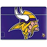 Skinit NFL Minnesota Vikings Galaxy Book Keyboard Folio 10.6in Skin - Minnesota Vikings Retro Logo Design - Ultra Thin, Lightweight Vinyl Decal Protection
