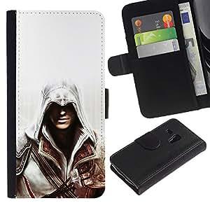 JackGot ( Asesinos del cartel )Samsung Galaxy S3 MINI i8190 (NOT S3) la tarjeta de Crédito Slots PU Funda de cuero Monedero caso cubierta de piel