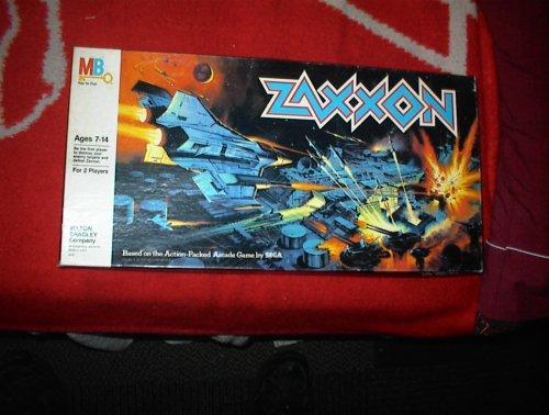 ZAXXON Board game (1982) Sega/Milton Bradley