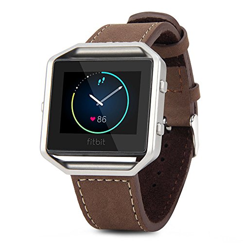 Fitbit GMYLE Replacement Leather Bracelet