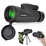 Monocular Telescope with Low Night Vision - Evershop High Power Monoculars for Adults and Kids with Tripod and Smartphone Holder for Bird Watching Hunting Camping Travelling Wildlife Secenery