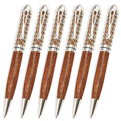 Filigree Pen - Legacy Woodturning, European Filigree Pen Kit, Many Finishes, Multi-Packs