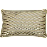 Thro by Marlo Lorenz Odom Studded Oblong Pillow, Papyrus