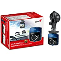 Genius DVR-FHD590 Full HD Vehicle Video Recorder with 128-Degree Wide Angle and G-Sensor