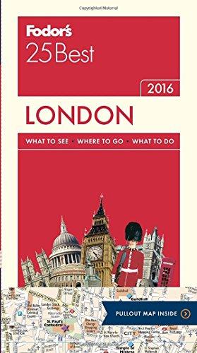 Fodor's London 25 Best (Full-color Travel Guide)
