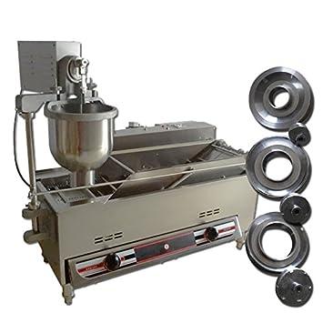 Yoli® 1 tamaño moldes, Commercial automático máquina de Donut, Donut de Acero Inoxidable Eléctrica/freidora, más amplio del depósito de aceite: Amazon.es: ...