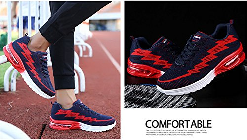 Casual Unisex Rosso Air Corsa Scarpe E Bety Sportive Blu 44eu Fitness Interior 35 Da All'aperto Running Ginnastica Sneakers qRPTdx