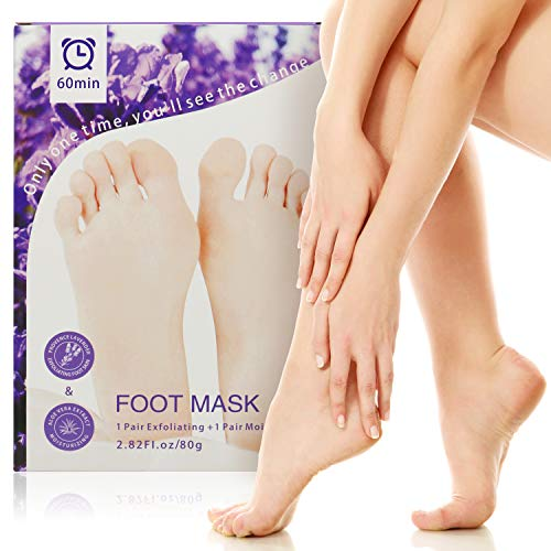 - Foot Peel Mask,exfoliating foot peel mask,Foot Peel Mask for Soft Feet,Peeling Off