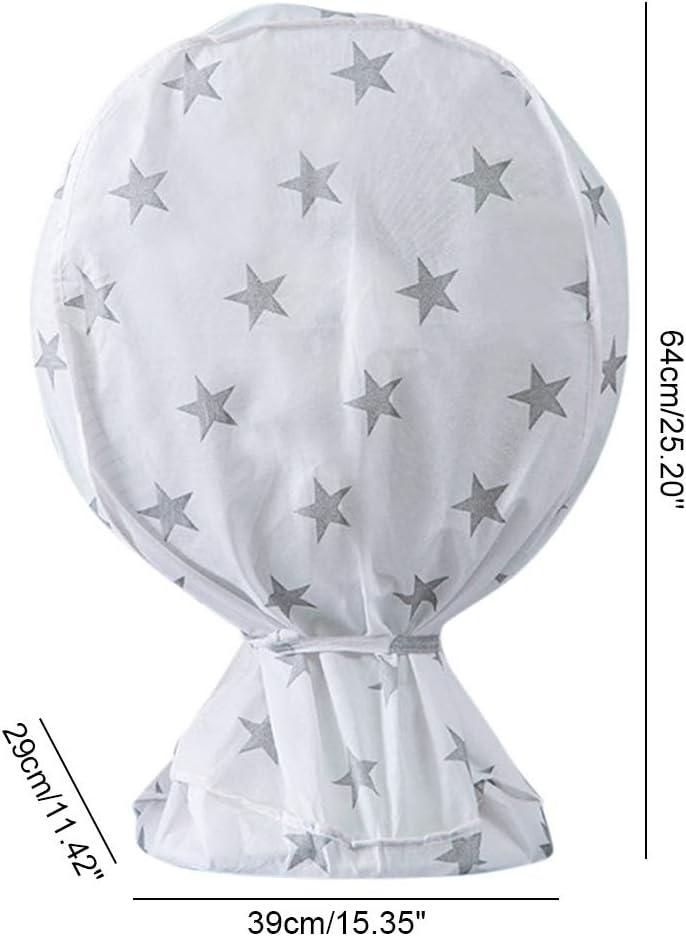Creacom Dust Fan Cover, Dust Fan Cover Foldable Dustproof Fan Cover for Household Floor Fans Pedestal Fans S (64 * 39 * 29cm) S (64*39*29cm).
