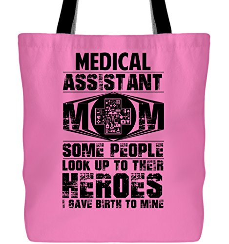Cool Medical Assistant Canvas Tote Bags, Medical Assistant Mom Tote Bags (Tote Bags - -