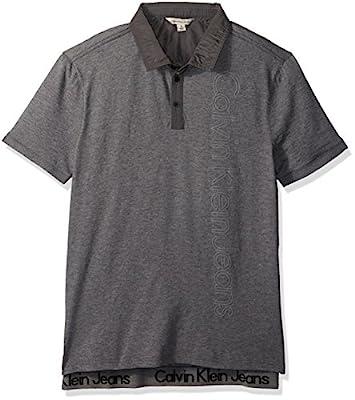Calvin Klein Jeans Men's Ckj Logo Polo Shirt