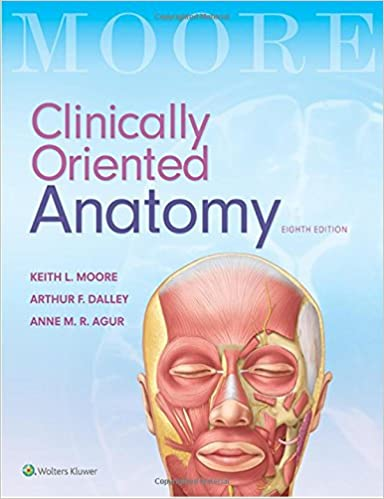 Clinically Oriented Anatomy: 9781496347213: Medicine & Health ...