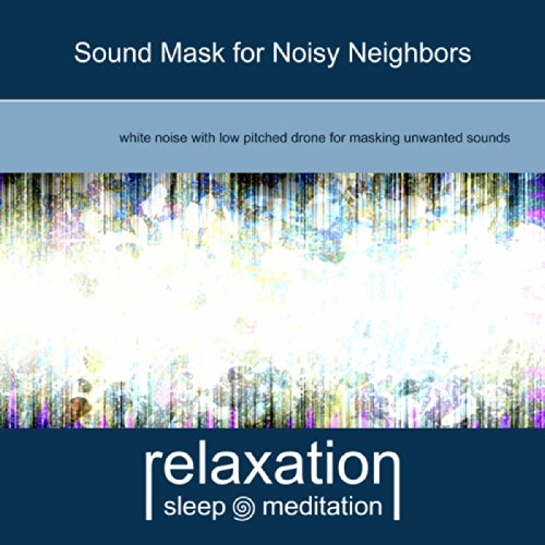 Sound mask for noisy neighbors by relaxation sleep Soundproof a bedroom wall noisy neighbours