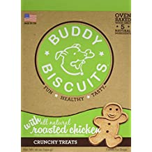 Buddy Biscuits 1 Piece Original Oven Baked Treats with Roasted Chicken, 16 oz