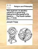 The Royal Sin, Joseph Trapp, 1140772562