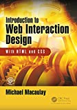 Introduction to Web Interaction Design: With HTML
