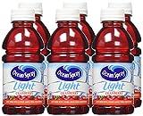 Ocean Spray Light Cranberry Juice Drink, 10 Ounce Bottles, 6 Count