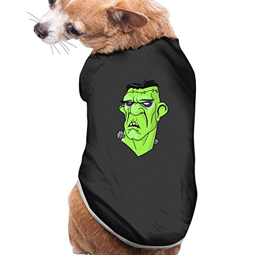 Centaur Dog Costume (NEW Pets Clothes HALLOWEEN Costumes Casual Frankenstein Pattern Vest Sweaters For Dogs&Cats)