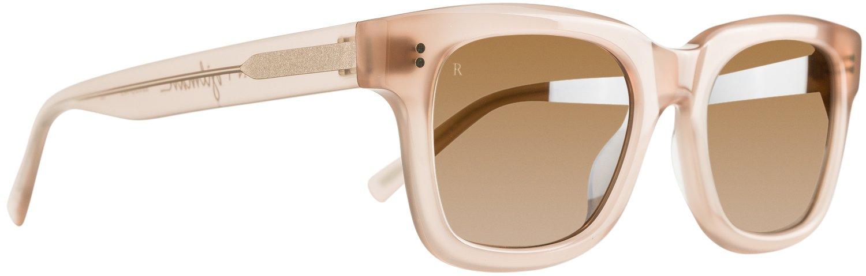 Brnslvpink New Raen Optics Men's Gilman Sunglasses Glass Pink