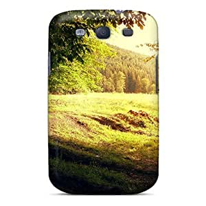 High-end Case Cover Protector For Galaxy S3(sunrise Morning Forest)