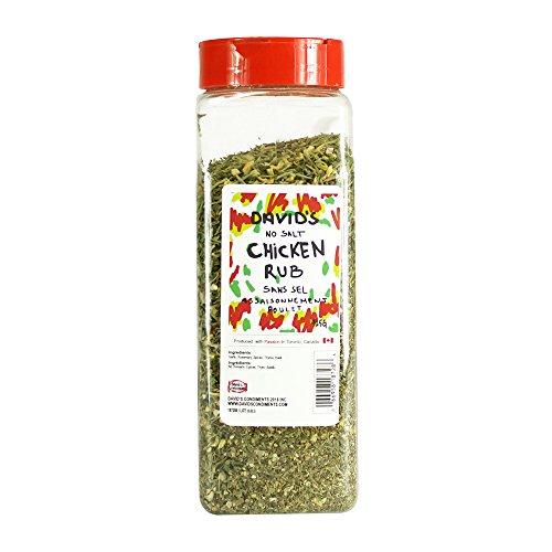 David's Chicken Seasoning Rub SALT FREE (11.5 oz)