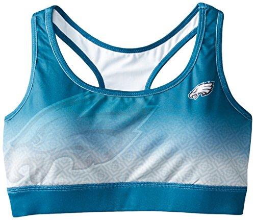 Philadelphia Eagles Gradient Sports Bra Medium