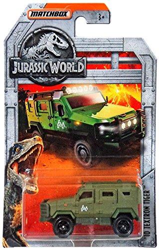 Matchbox Jurassic World Exclusive  10 Textron Tiger  Green