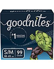 GoodNites Bedtime Bedwetting Underwear, Boy, Short/Medium, 99 Count